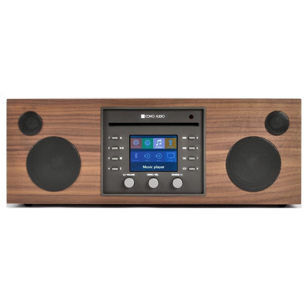 Como Audio Musica - DAB + / FM-radio met internetradio en CD-speler - Walnoot