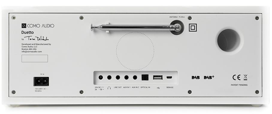 Como Audio Como Audio Musica - DAB + / FM-radio met internetradio en CD-speler - Zwart