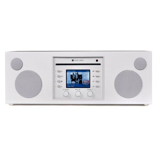 Como Audio Como Audio Musica - DAB + / FM-radio met internetradio en CD-speler - Wit