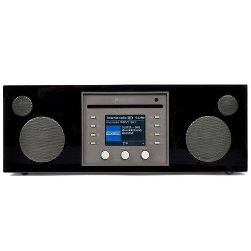 Como Audio Musica - DAB + / FM-radio met internetradio en CD-speler - Zwart