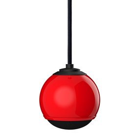 Gallo Acoustics Micro Droplet - Hangende Speaker - Rood