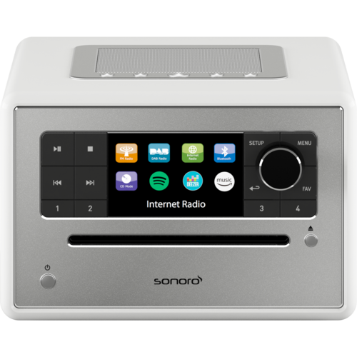 Sonoro Sonoro ELITE - Internet Radio met CD-Speler - Wit