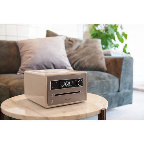 Sonoro Sonoro Qubo - DAB+ Radio, CD en Bluetooth - Hoogglans Wit