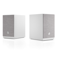 A26 - Actieve Boekenplank Speaker - Wit (Per Paar)