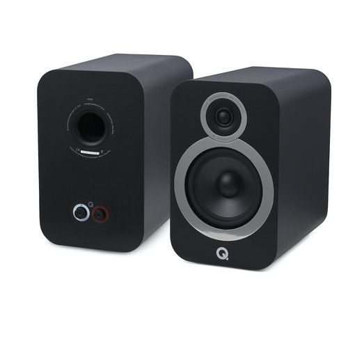 Q Acoustics Q-Acoustics 3030i - Boekenplank Luidsprekers - Zwart