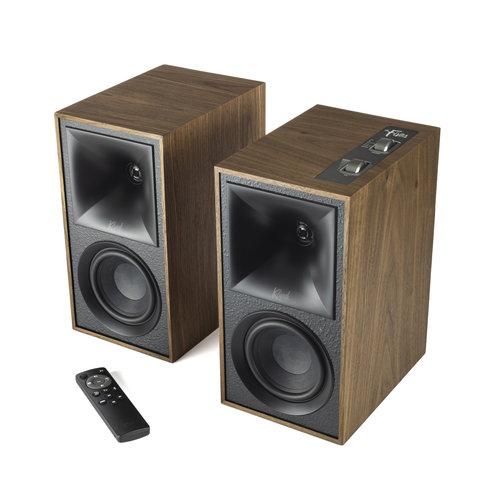 Klipsch Klipsch The Fives Actieve speaker met Bluetooth - walnoot