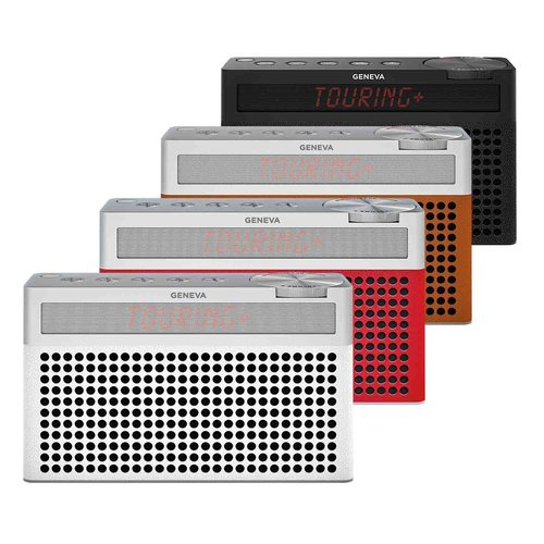 Geneva Hifi-Sound Geneva Touring / S+ oplaadbare portable hi-fi DAB+ en FM radio met Bluetooth wit
