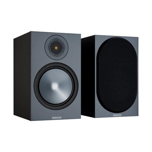 Monitor Audio Monitor Audio Bronze 100 boekenplank speaker zwart (per paar)