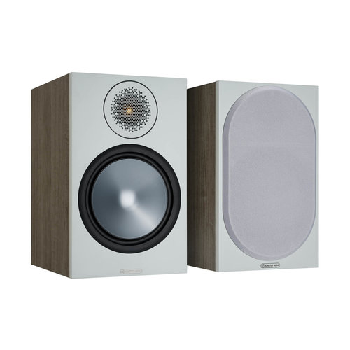 Monitor Audio Monitor Audio Bronze 100 boekenplank speaker grijs (per paar)