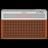Touring / S+ oplaadbare portable hi-fi DAB+ en FM radio met Bluetooth Cognac