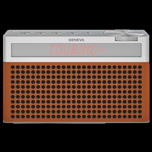 Geneva Hifi-Sound Geneva Touring / S+ oplaadbare portable hi-fi DAB+ en FM radio met Bluetooth Cognac