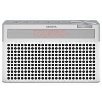 Touring / S+ oplaadbare portable hi-fi DAB+ en FM radio met Bluetooth wit