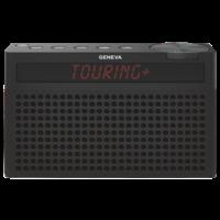 Touring / S+ oplaadbare portable hi-fi DAB+ en FM radio met Bluetooth zwart