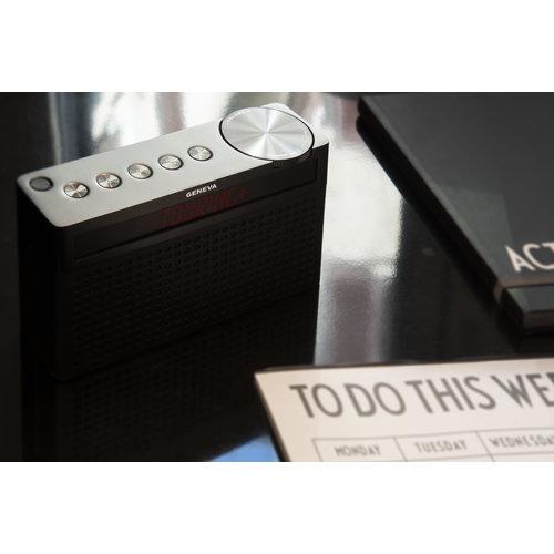Geneva Hifi-Sound Geneva Touring / S+ oplaadbare portable hi-fi DAB+ en FM radio met Bluetooth zwart