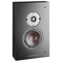 Oberon on-wall surround speaker zwart