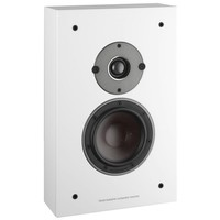 Oberon on-wall surround speaker wit