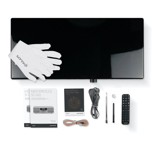 Sonoro Sonoro MEISTERSTÜCK 610 V4 - Smart Line - Zwart