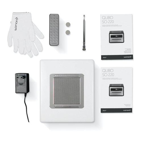 Sonoro Sonoro Qubo - DAB+ Radio, CD en Bluetooth - Hoogglans Zwart