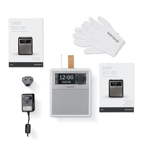 Sonoro EASY V2 - Draagbare DAB+ Radio + Bluetooth - Zwart