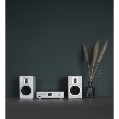 Sonoro Sonoro Maestro - Alles-in-een HiFi ontvanger - Met internetradio - grijs