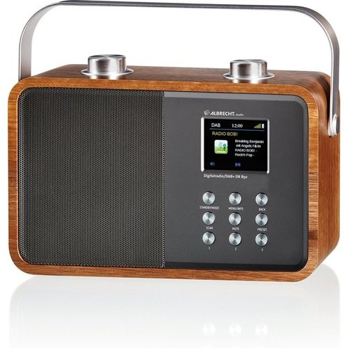 Albrecht Albrecht DR 850 DAB + / FM digitale radio Bluetooth, Kleurendisplay, 7 watt