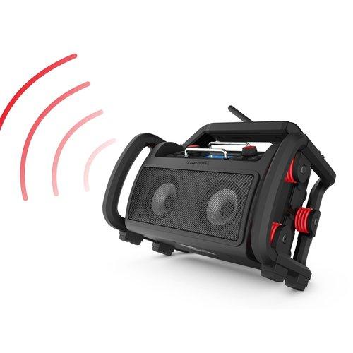 Perfectpro PerfectPro ROCKPRO DAB+/FM Radio, Internet, Bluetooth Bouwradio