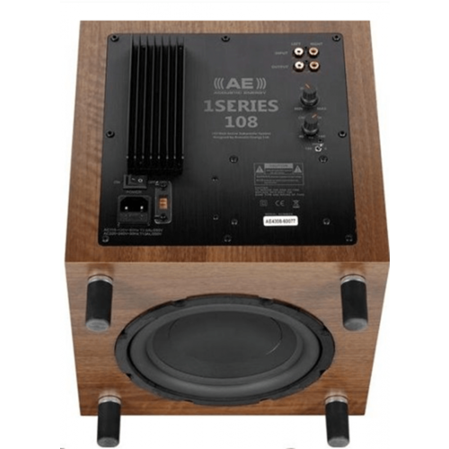 ACOUSTIC ENERGY ACOUSTIC ENERGY AE 108 SUBWOOFER - WALNOOT