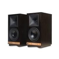 The Sixes actieve boekenplank speakers - Zwart (per paar)