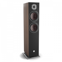 Oberon 7 C vloerstaande speaker - Walnoot