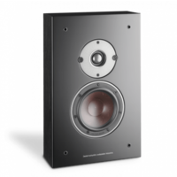 Oberon On-Wall C speaker - Zwart (per paar)