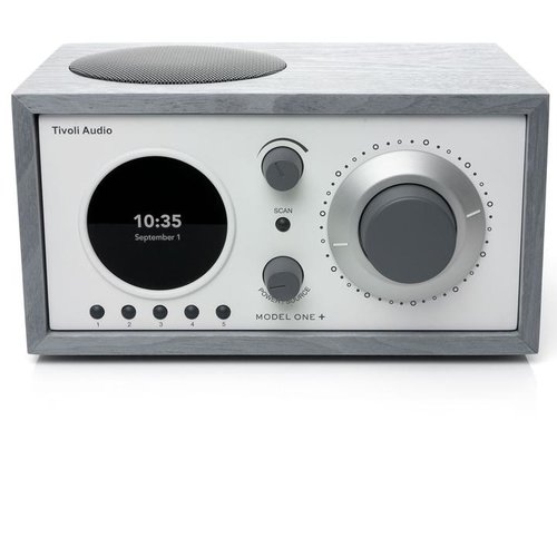 Tivoli Audio Tivoli Audio Model One+ AM/FM / AUX IN / DAB/DAB+ - Grijs