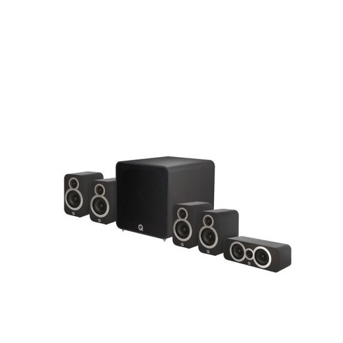 Q Acoustics Q Acoustics 3010i 5.1 Plus Homecinema set - Zwart