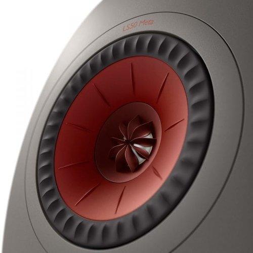 KEF KEF LS50 Meta Boekenplank speaker titanium grey (per paar)