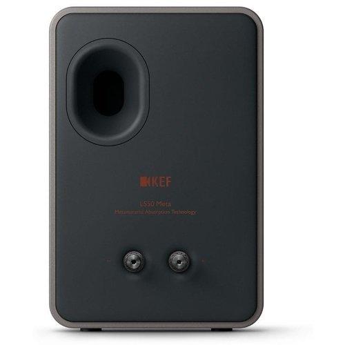 KEF KEF LS50 Meta Boekenplank speaker Carbon black (per paar)