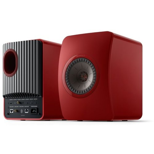 KEF Kef LS50 Wireless 2 Boekenplank speaker  Grimson Red (per paar)