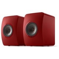 LS50 Wireless 2 Boekenplank speaker Grimson Red (per paar)