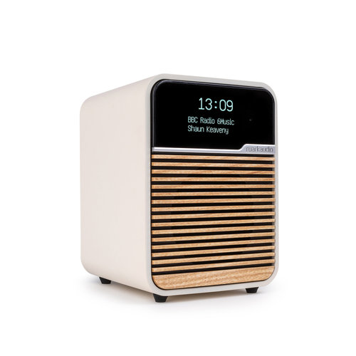 Ruark Audio Ruark Audio R1 MK4 Deluxe Radio met DAB+ en Bluetooth - Light Cream