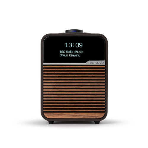 Ruark Audio Ruark Audio R1 MK4 Deluxe Radio met Dab+ en bluetooth - Espresso