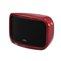 Cycloon 8 Speaker - Rood (Per stuk) (Kleur op aanvraag)