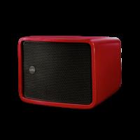 Cycloon bass Speaker - Rood  (Per stuk) (Kleur op aanvraag)