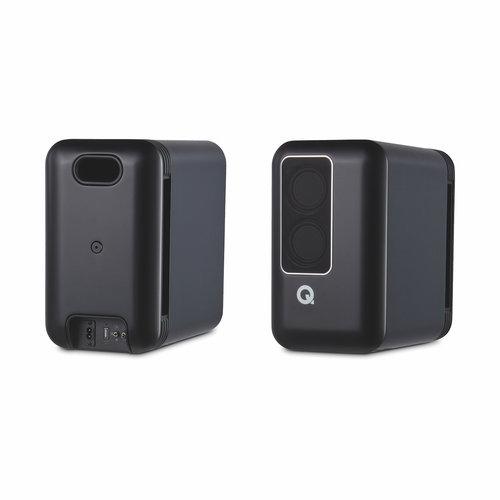 Q Acoustics Q-acoustics Q 200 actieve speakers - Zwart (per paar)