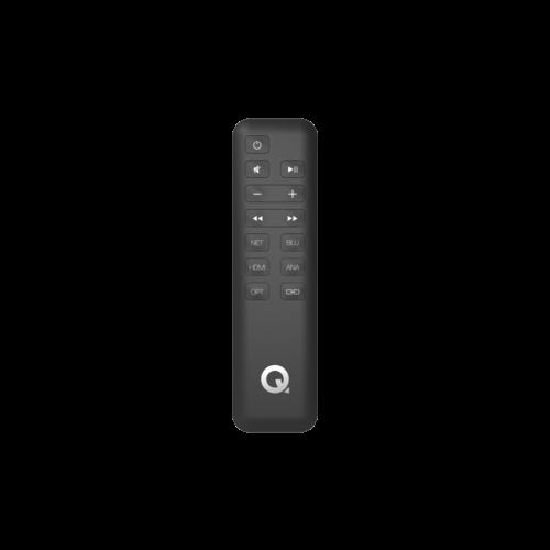 Q Acoustics Q-acoustics Q 400 actieve vloerstaande speakers - zwart (per paar)