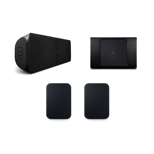 Bluesound Bluesound Pulse soundbar 2i, Pulse sub+ en Pulse flex 2i - Zwart