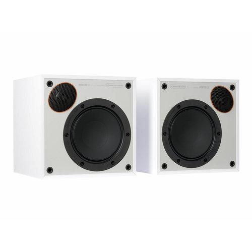 Monitor Audio Monitor Audio Monitor 50 boekenplank speakers -  Wit (per paar)