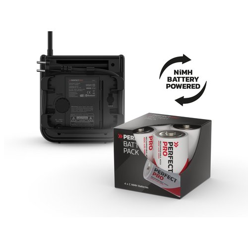 Perfectpro Perfectpro DAB+ Pro PLUS oplaadbare batterijen - Bouwradio - Draagbare Radio