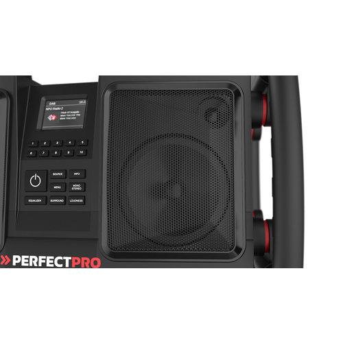 Perfectpro PerfectPro ROCKBULL - FM/Dab+ Bouwradio  met Accu