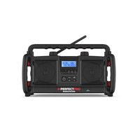 Workstation 3 PLUS oplaadbare batterijen - Bouwradio - Dab+ - Bluetooth