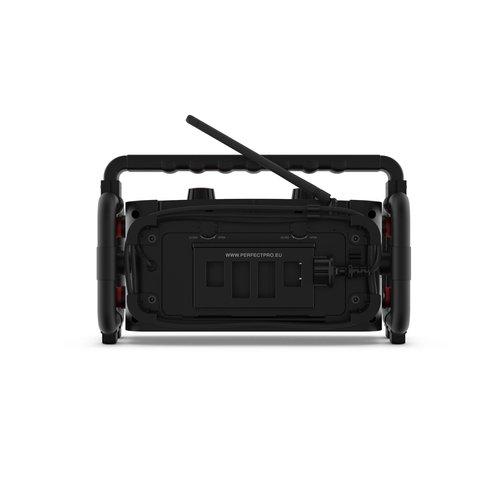 Perfectpro Perfectpro Workstation PLUS oplaadbare batterijen - Bouwradio - Dab+ - Bluetooth