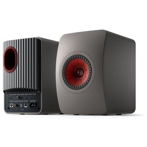 KEF Tweedekans: Kef LS50 Wireless 2 Boekenplank speaker Titanium Grey (per paar)