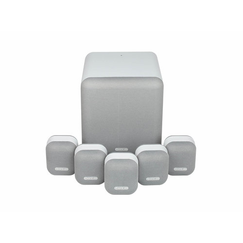 Monitor Audio Tweedekans: Monitor audio Mass 2G - 5.1 Home Cinema-systeem - Donkerblauw - Grijs